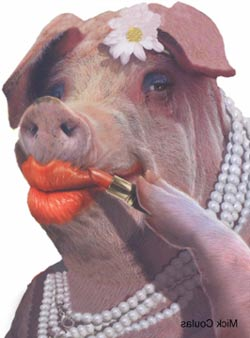 Pastoral Meanderings: Lipstick on a pig. . .